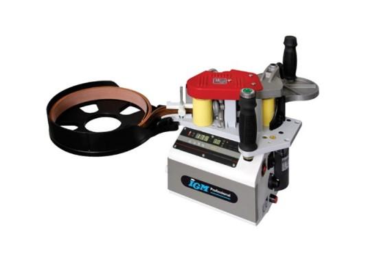 DR500 Hordozható élfóliázó ragasztófelhordással