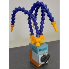 """Flexibilis hűtőfolyadék cső (1/4"""") mágnestalppal"""